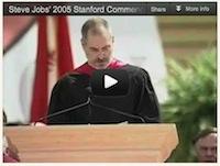 Video: Steve Jobs Commencement Speech 2005