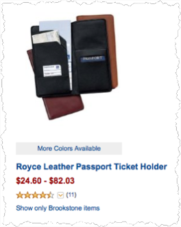 How To Get Into Manufacturing - Italian Leather Passport Holder