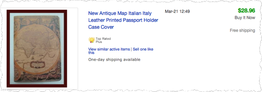 How To Get Into Manufacturing - Antique Map Leather Passport Holder