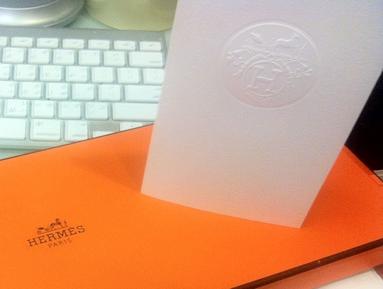 How To Get Into Manufacturing - Hermes - Receipt Envelope