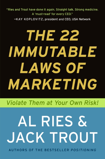 How To Get Into Manufacturing - The-22-Immutable-Laws-of-Marketing