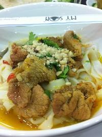 Living In Ho Chi Minh City - Mi Quang Noodles