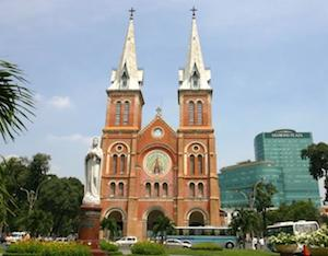 Living In Ho Chi Minh City - Cathedral