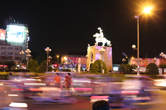 Living In Ho Chi Minh City - Roundabout by Ben Thanh Market