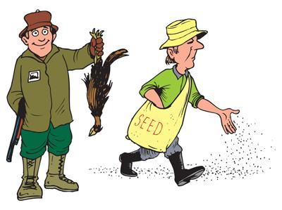 Hunter vs. Farmer
